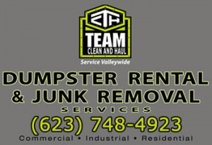 Dumpsters for Renty by Team Clean and Haul