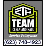 Team Clean and Haul - roll off dumpster rental in New River Arizona